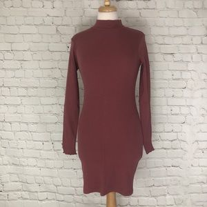 Size Small Long Sleeve Bodycon Dress A&F NWT